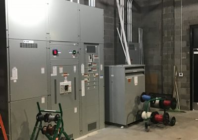 Commercial Circuit Box Install
