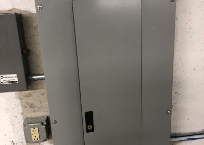 Commercial Panel Box Install