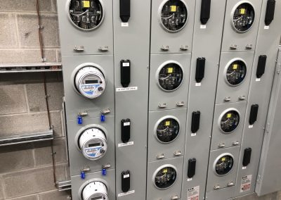 Multi-Unit Electrical Meter System Install